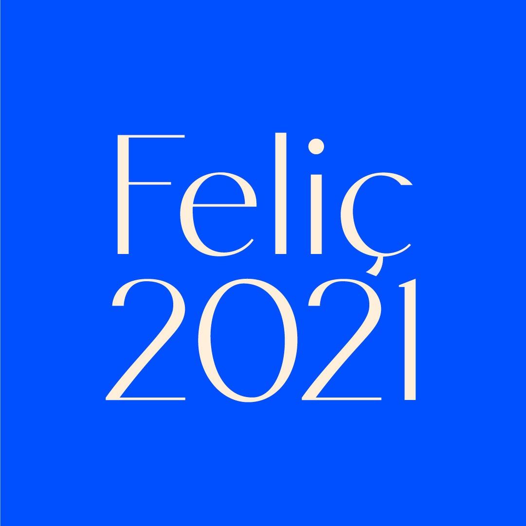 Feliç entrada a l'Any 2021!
